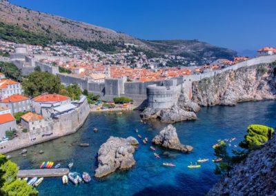 Adriatic Tour Dalmatia Dubrovnik Kayak by Jelena Vrancic