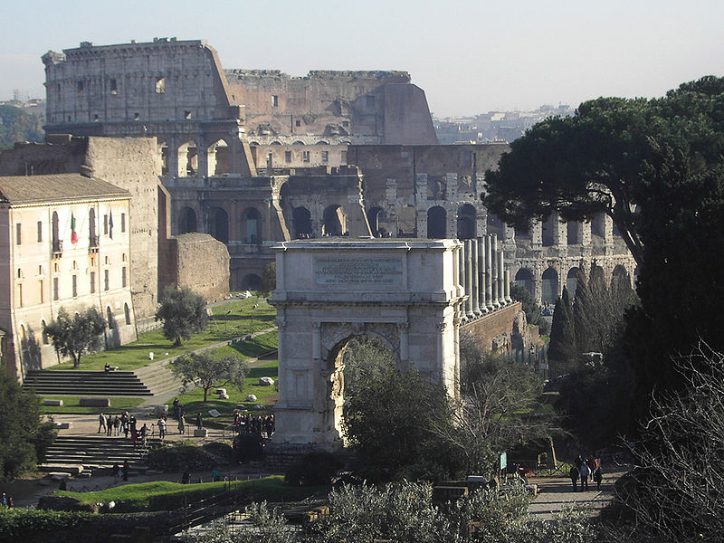 taking a course in Roman architecture from the University of Yale